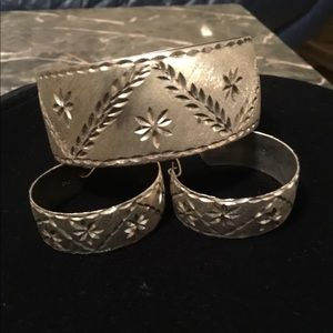 Vintage 925 Silver hand made Beautiful design